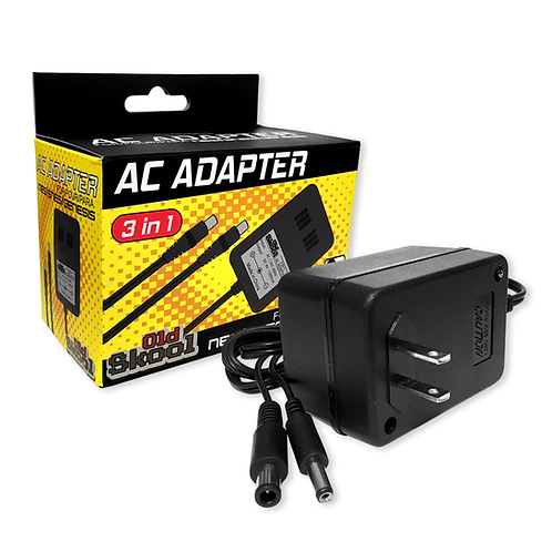 3 in 1 AC Adapter (NES / SNES / GENESIS1)