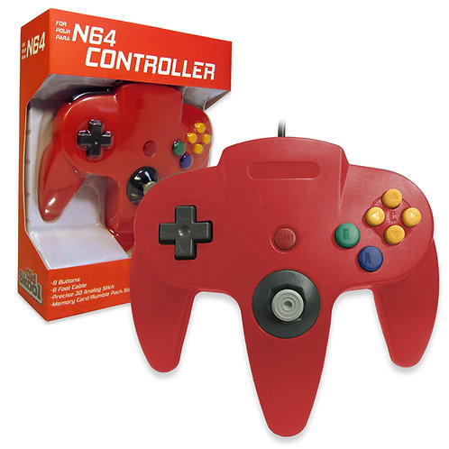 N64 Controller - Red