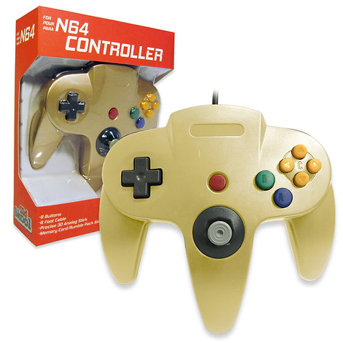 N64 Controller - Gold
