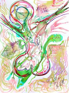57 x 76 Watercolor