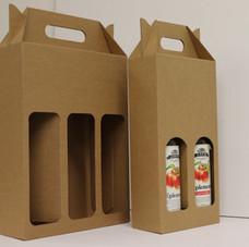 217-modell m/vinduer til flasker
