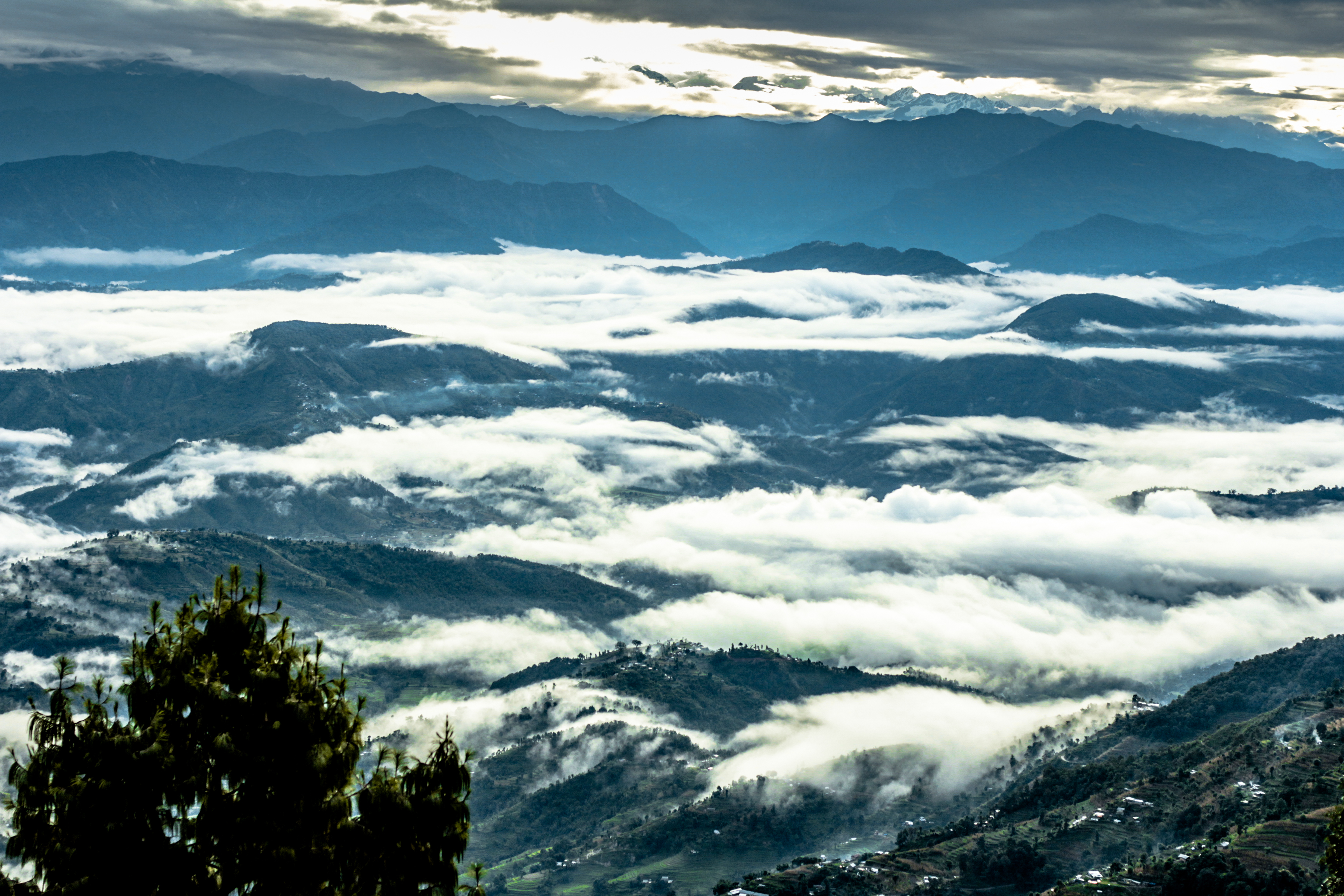 Himalayan Range (Nagarkot, Nepal)