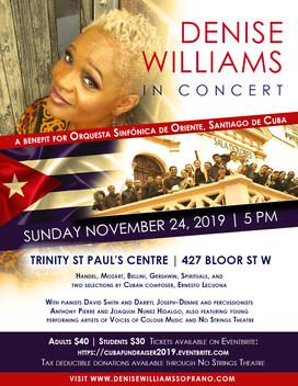 Denise Williams Orquestra Poster (WEB) (