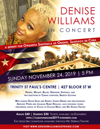 Denise Williams Orquestra Poster (WEB) (