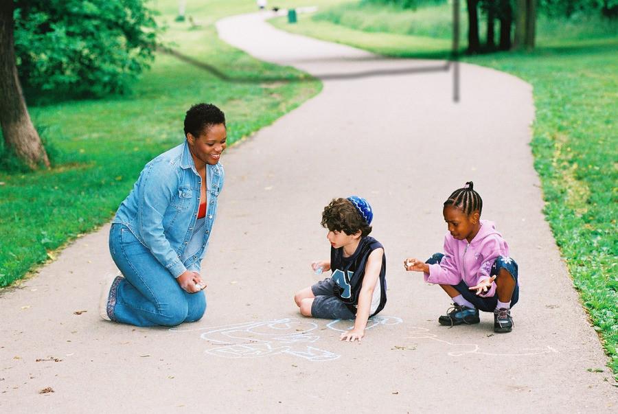 Walk Together Children kids_1