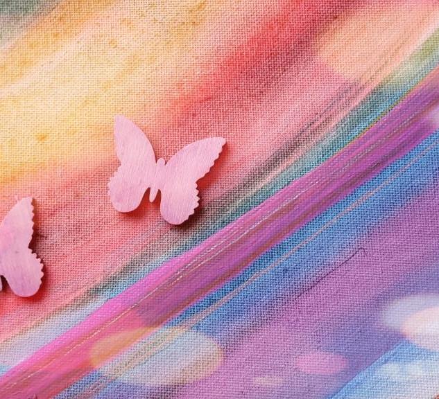 aus Raupen werden Schmetterlinge
