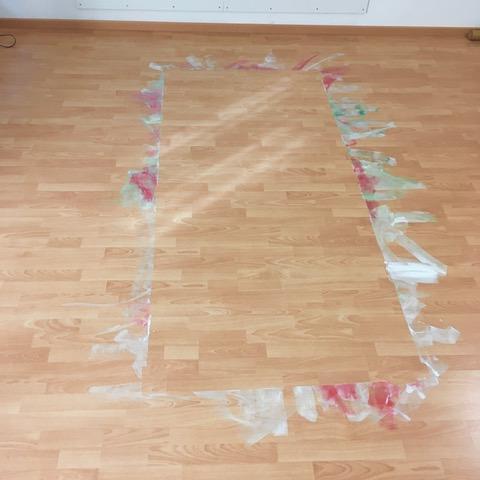 Resultat einer Kunsttherapie-Sitzung