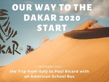La partenza della Dakar il video di Officine Vivaldi