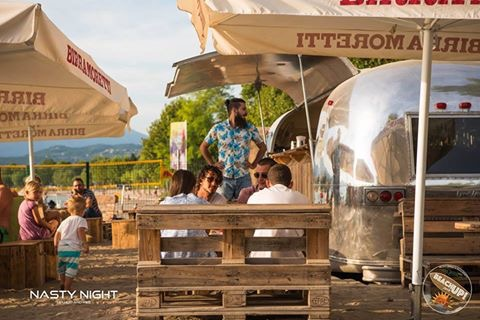 Airstream 24 feet bar by Officine Vivald