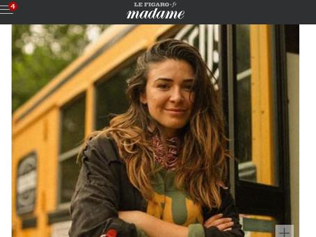 Madame Figaro e l'Intervista alla Bellucci delle moto