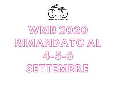 WMB 2020 rimandato a settembre