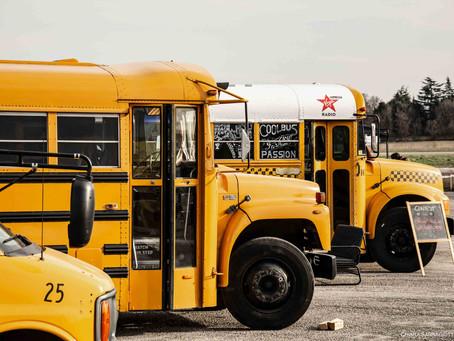 3 Scuola Bus Americani in Italia