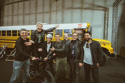 Great Crew at the Motor Bike Expo