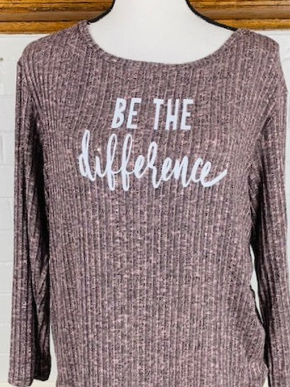 """Be the Difference"" Long Sleeve Shirt"
