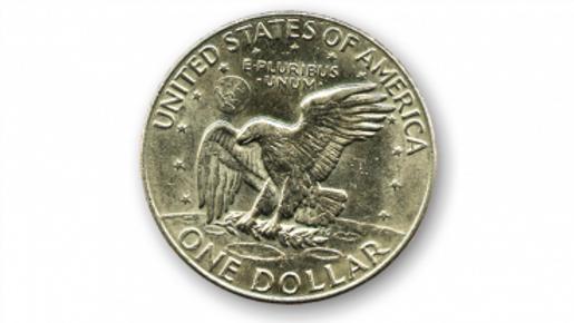 Eisenhower Dollar (Einzelmünze)