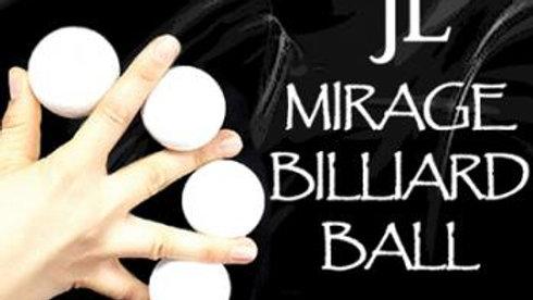 """Manipulationsbälle Mirage von """"JL aus Korea"""" (Weiß, 3 Bälle und Shell)"""