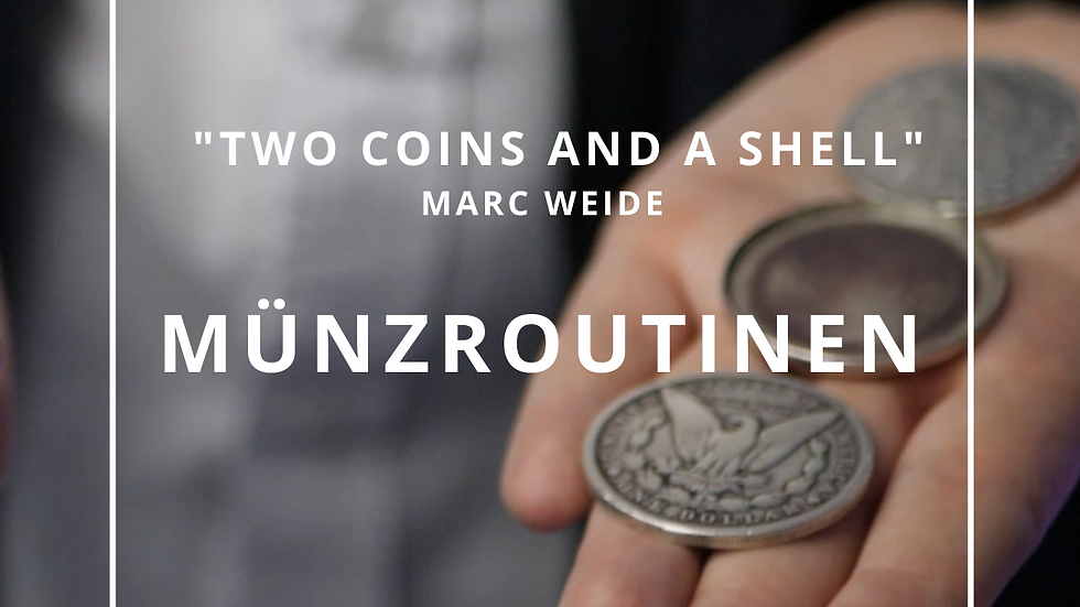 """""""Two Coins and a Shell"""" von Marc Weide"""