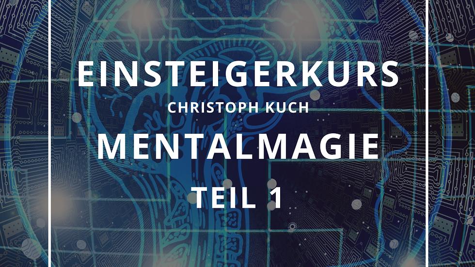 Einsteigerkurs Mentalmagie - Teil 1