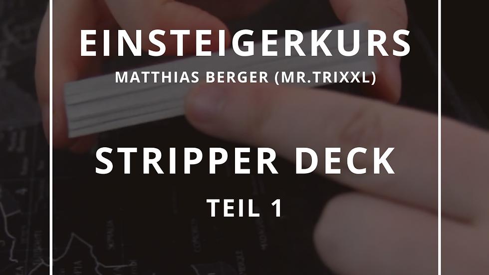 Einsteigerkurs - Stripper Deck
