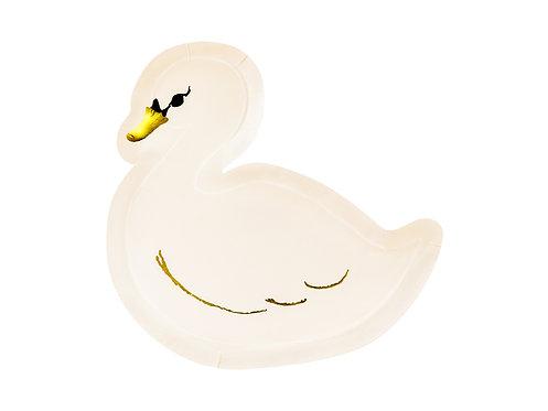 Plates Lovely Swan, 23.5x22.5cm