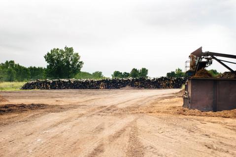 Log Yard & Debarker