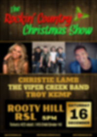 Christie Lamb - The Rockin Country Christmas Show