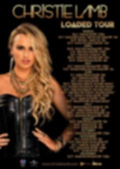 Christie Lamb, 2018 Tour Dates, Christie Lamb Loaded Tour,