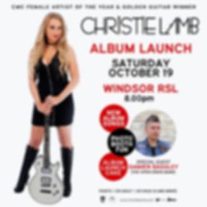 Christie Lamb New album launch
