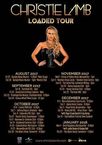 Christie Lamb - LOADED Tour 2017