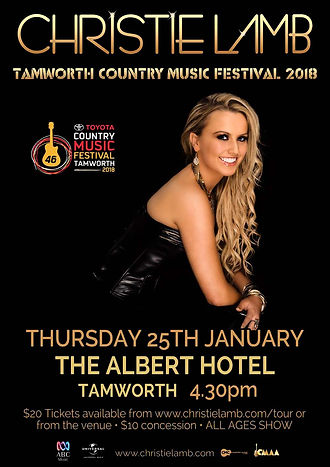 Christie Lamb - Tamworth Country Music Festival 2018