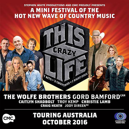 Christie Lamb, The Wolfe Brothers, This Crazy Life,