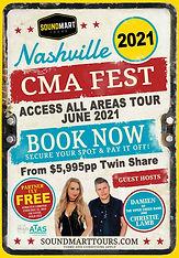 Christie Lamb guest host Nashvlle CMA Fest 2021 tour