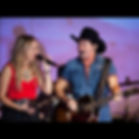 Christie Lamb and Lee Kernaghan