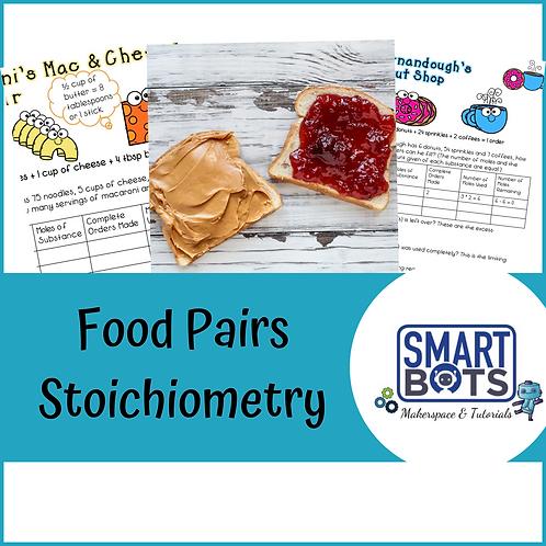 Food Pairs Stoichiometry