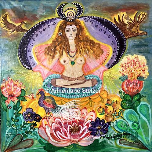Die Göttin der Meditation
