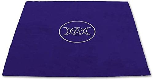 Tarot Cloth Pagan Circle Velvet