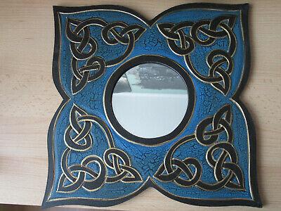 Wandspiegel mit keltischem Knotenmuster