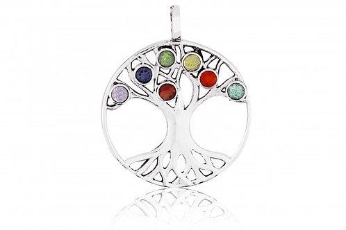 Chakra Lebensbaum Anhänger
