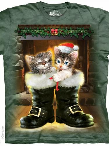 Boots and Cats Kinder-T-Shirt Kurzarm