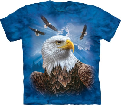 The Mountain Unisex Guardian Eagle Bird of Prey T Shirt