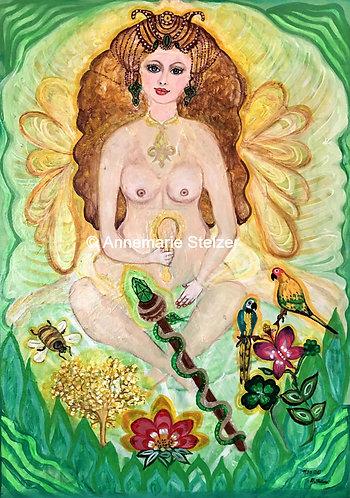 Die Göttin der Schönheit und Harmonie