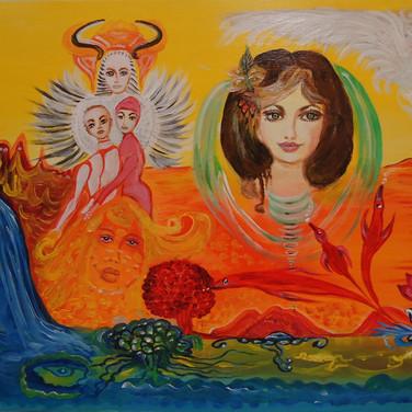Die Muttergöttin/The Mother Godess