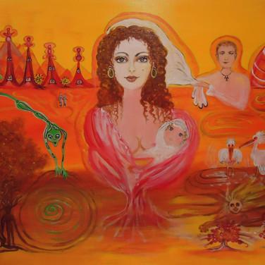 Göttin des Feuerreich/Godess of Fire Kingdom