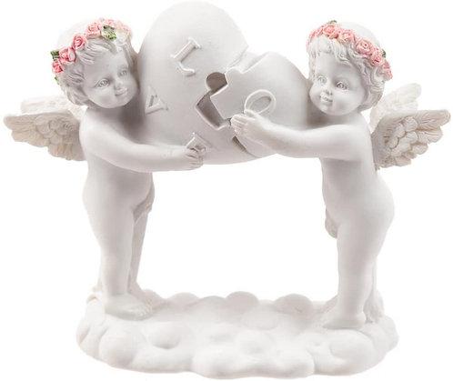 Rosen-Cherubim Love Heart (Engel)
