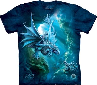 The Mountain Unisex Sea Dragon Fantasy Anne Stokes T Shirt