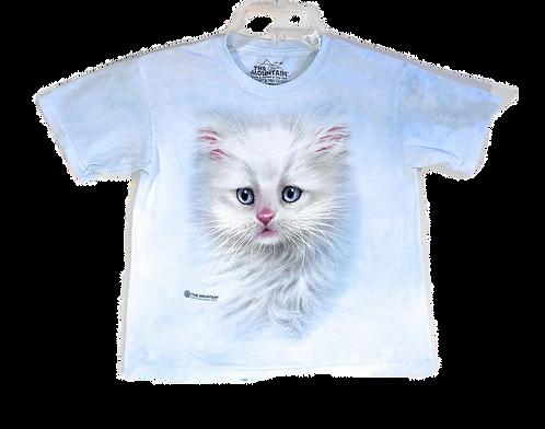 Fluffy White Kinder-T-Shirt