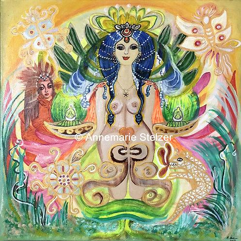 Die Göttin der Visionen