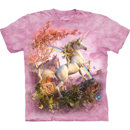 The Mountain Awesome Unicorn Fantasy Kinder-T-Shirt