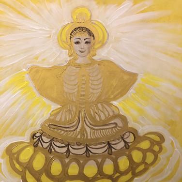 Verträumter Buddha/Dreamy Buddha