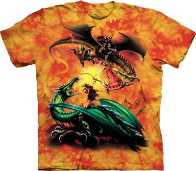 The Mountain The Duel Dragons T Shirt